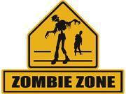 Zombie Lawn Signs Zombie Zone Sign