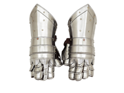 Antique Replica Medieval Knight Metal Gauntlets