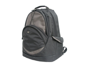 "Supra Ballistic Nylon 15.4"" Laptop Notebook Computer Backpack - Black"