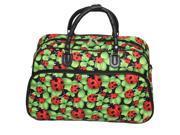 All-Seasons 21-inch Carry-On Shoulder Tote Duffel Bag - Ladybug