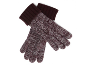 Liz Claiborne Womens Burgundy  Wool Touch Screen Texting Gloves for Ipod I-Phone