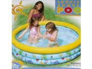Inflatable Kids Tropical Sunrise Swimming Splash Pool