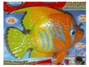 SwimWays Rainbow Reef Orange & Yellow Angel Fish Swimming Pool Toy