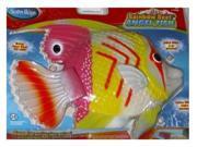 SwimWays Rainbow Reef Pink Yellow Angel Fish Swimming Pool Toy