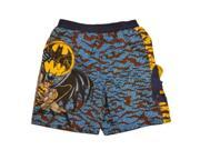 DC Comics Boys Blue Batman Board Shorts Bat Man Swim Trunks