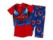 Marvel The Amazing Spider-Man 2 Boys 3 Piece Pajama Sleepwear Set