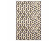Threshold Yellow & Gray Sand Dollar Skid Resistant Accent Throw Area Rug 30x48