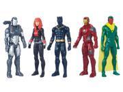 Marvel Avengers Titan Hero Series Exclusive 5 Figure Set With Iron Man 9SIA17558C5147