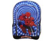 "Marvel 16"""" Spiderman Classic Kids Backpack Blue Spider-Man Travel School Pack"" 9SIA1755TU3827"
