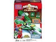Mega Bloks Power Rangers Super Samirai Green Rocket Race Car Building Set 5769
