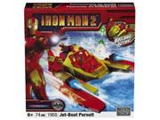 Mega Bloks Iron Man Jet Boat Pursuit Ironman Building 9SIA17543V2044