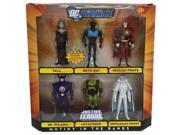 DC Universe Justice League Mutiny In The Ranks Action Figure Set - 6 Figures 9SIA1756KR3661