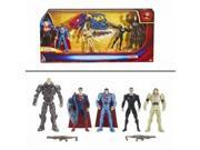 Superman Man of Steel Kryptonian Invasion Exclusive Action Figure 5-Pack Mattel 9SIA1753KS7734