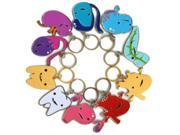 Complete Set of All 10 Guts Keychains by I Heart Guts