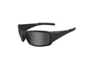 Wiley X Twisted Polarized Smoke Grey Lens/Matte Black Frame Sunglasses