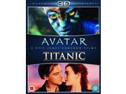 Avatar 3D / Titanic 3D Blu-ray [Region-Free]
