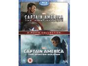 Captain America: The First Avenger / Captain America: The Winter Soldier: 2 Movie Collection Blu-ray [Region-Free] 9SIA17C23W8064