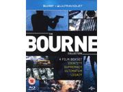 The Bourne Collection: 4 Film Boxset Blu-ray [Region-Free]