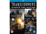 Transformers: 4-Movie Collection Blu-ray [Region-Free]
