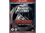 Avengers Age of Ultron / Avengers Assemble Blu-ray (3D + 2D) [Region-Free] 9SIA17C3KR1840