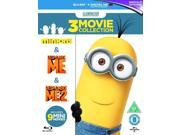Minions Collection: Despicable Me/Despicable Me 2/Minions Blu-ray [Region-Free] 9SIA17C3KR1808