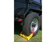 TCL75 TRIMAX Trailer Wheel / Tire Chock Lock (Medium Size)