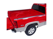 21989 Dee Zee Brite Aluminum Bed Rail Caps Ford Super Duty 8' 1999-2013