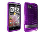 OEM Verizon High Gloss Silicone Case for HTC ThunderBolt 6400 (Purple) (Bulk Packaging)