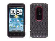 Wireless Solutions Honeycomb Dura-Gel Case for HTC EVO 3D - Smoke