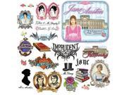 Jane Austen Temporary Tattoos by Accoutrements 9SIA7WR3N30381