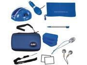DREAMGEAR DGDSL-050 NINTENDO DS LITE 17-IN-1 BUNDLE (BLUE)