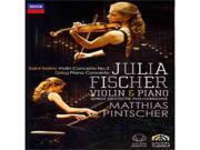 Fischer J-Julia Fischer-Saint-Saens-Violin Concerto No 3 (Dvd)