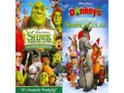 Shrek 4 Forever After/Donkeys Christmas Shrektacular (Dvd/Back To Back) 9SIAA765872631