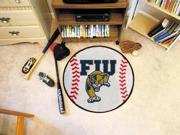 "Florida International Univ Baseball Rugs 29"" Diameter"