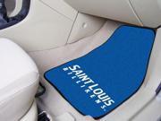 "St. Louis University 2-Piece Carpeted Car Mats 18""X27"""