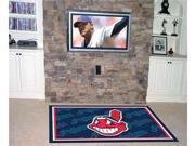 "Cleveland Indians Rug 4X6 46""X72"""