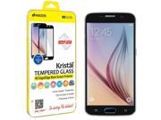 Amzer Kristal Tempered Glass HD Edge2Edge Black Screen Protector for Samsung Galaxy S6 SM-G920F 9SIA17P43H5642