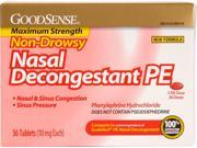 Good Sense Non Drowsy Nasal Decongestant Pe Case Pack 24 9SIA17P3727090
