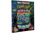 200 Plus Glow Sticks Case Pack 12