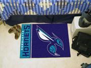 "Fanmats NBA - Charlotte Bobcats Uniform Inspired Starter Rug 19""""x30"""""" 9SIA62V4TA6398"