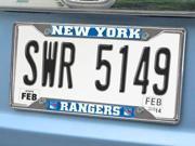 Fanmats NHL - New York Rangers License Plate Frame 6.25