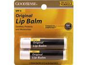 Good Sense Original Lip Balm with Spf-4 Twin Pack 2/0.15 oz. Case Pack 48