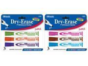 Bazic Fancy Color Chisel Tip Dry-Erase Markers Case Pack 144