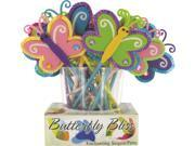 BUTTERFLY BLISS SEQUIN PEN Case Pack 72