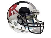 Rutgers Scarlet Knights Schutt XP Full Size Replica Helmet - Chrome Red/Gray Alternative #4