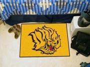 """Fanmats University of Arkansas - Pine Bluff Golden Lions Starter Rug 20""""""""x30"""""""""""" 9SIA62V4S95137"""