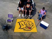 Fanmats University of Arkansas - Pine Bluff Golden Lions Tailgater Rug 5'x6' 9SIA62V5BG6848