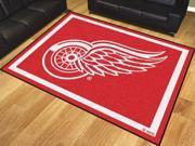 NHL - Detroit Red Wings 8'x10' Rug