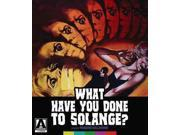 WHAT HAVE YOU DONE TO SOLANGE 9SIAA763UT1841