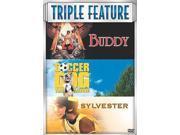 BUDDY/SOCCER DOG/SYLVESTER-BOX SET (DVD/3 DISC)               NLA 9SIAA763XC6968